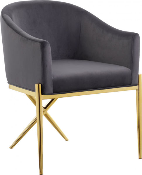 Picture of XAVIER GREY DINING CHAIR - 763