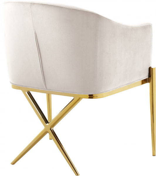 Picture of XAVIER CREAM DINING CHAIR - 763