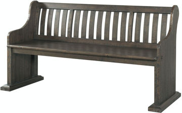 Picture of MORRISON LARGE PEW BENCH - DST100