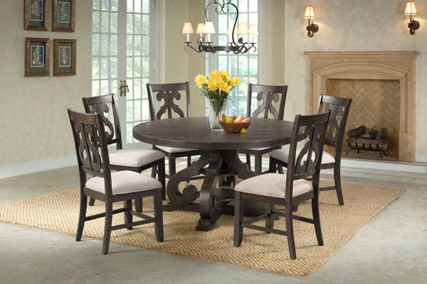 Picture of MORRISON ROUND DINING TABLE - DST180