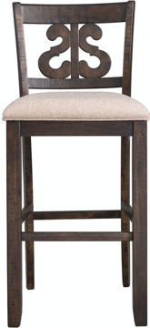 Picture of MORRISON SWIRL BACK COUNTER STOOL - DST195