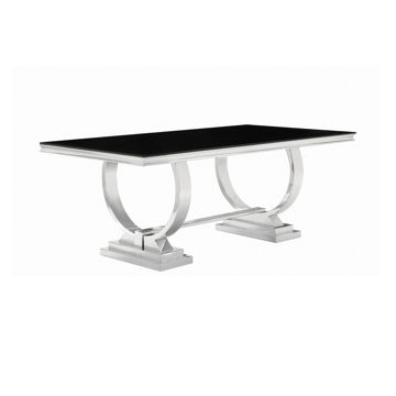Picture of ANTOINE CHROME DINING TABLE - 10787