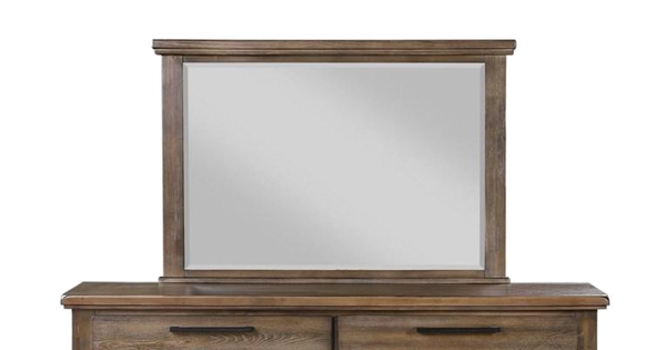 Picture of CAGNEY GRAY VINTAGE MIRROR - NC594