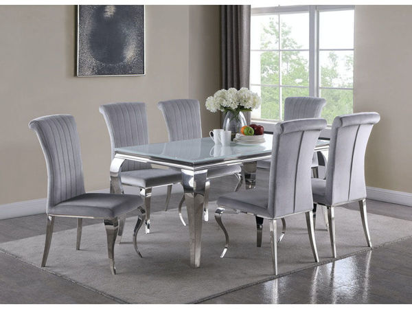 Picture of SOPHIE 7PC RECTANGLE DINING SET