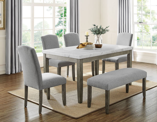 Picture of EMILY 6PC DINING SET - EM500