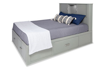 Picture of AIDEN GREY KING BED