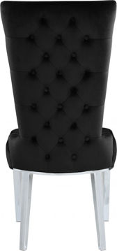 Picture of STRATOS BLACK DINING CHAIR - 729