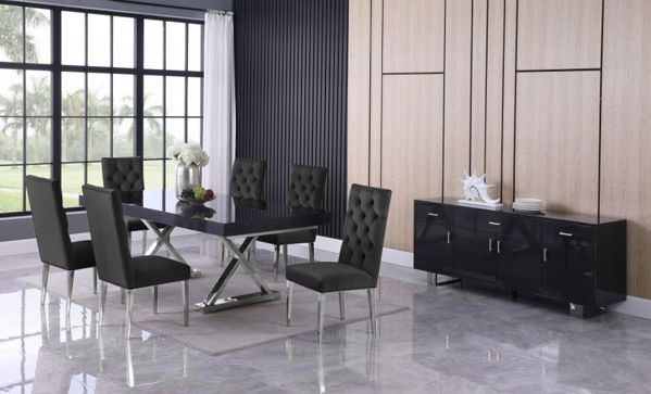 Picture of STRATOS NAVY 7PC DINING SET - 998/729