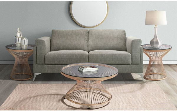 Picture of LAVINIA GOLD END TABLE - LV200