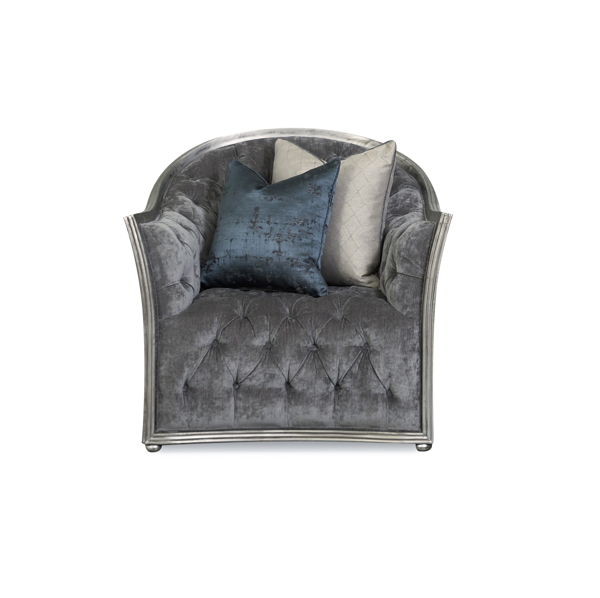 Picture of SIENNA SMOKE 3PC LIVING ROOM - A175
