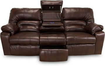Picture of DAKOTA CHOCOLATE MANUAL RECLINING SOFA - F113