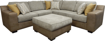 Picture of HANDWOVEN LINEN 3PC SECTIONAL - B246