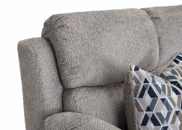Picture of FOG GREY POWER RECLINING LOVESEAT - F636
