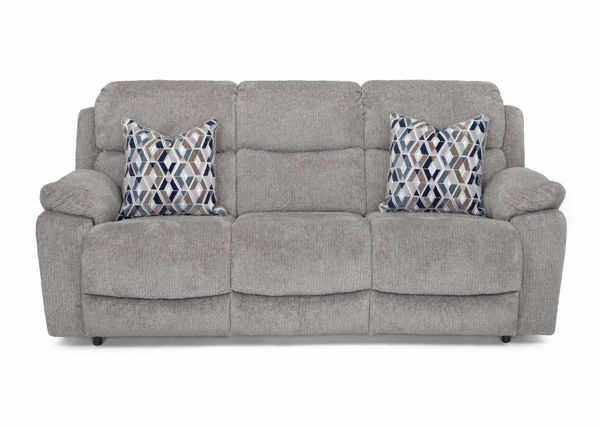 Picture of FOG GREY POWER RECLINING SOFA - F636