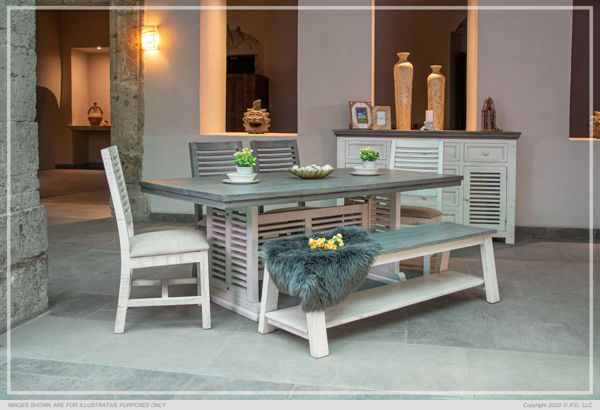 Picture of SANDCASTLE DINING BENCH - 600