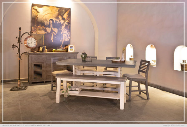 Picture of SANDCASTLE COUNTER HEIGHT DINING BENCH - 620