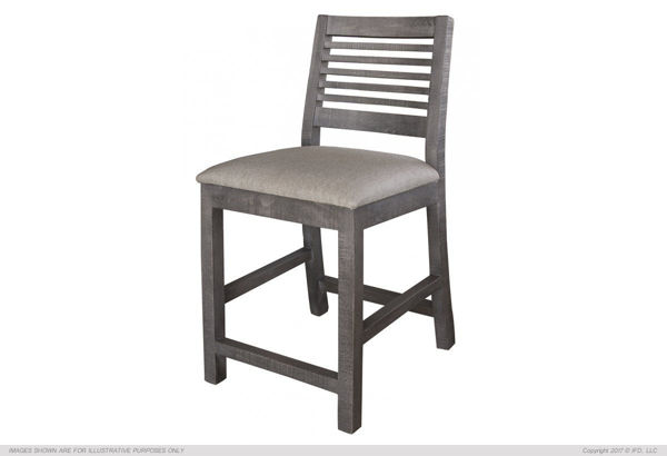 Picture of SANDCASTLE GRAY COUNTER STOOL - 620