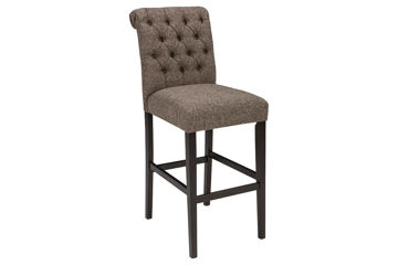"""Picture of TRIPTON 30"""" TAUPE BARSTOOL - D530"""