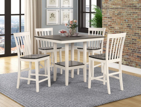 Picture of LINDSEY FARM 5PK COUNTER DINING SET - 2682