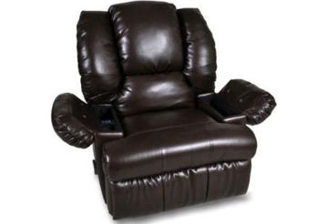Picture of BENEDICT CHOCOLATE RECLINER W/ MASSAGE - 6588