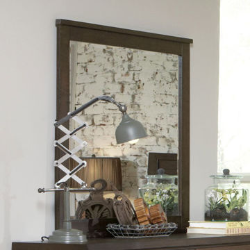 Picture of DRIFTWOOD LANDSCAPE MIRROR - SL076