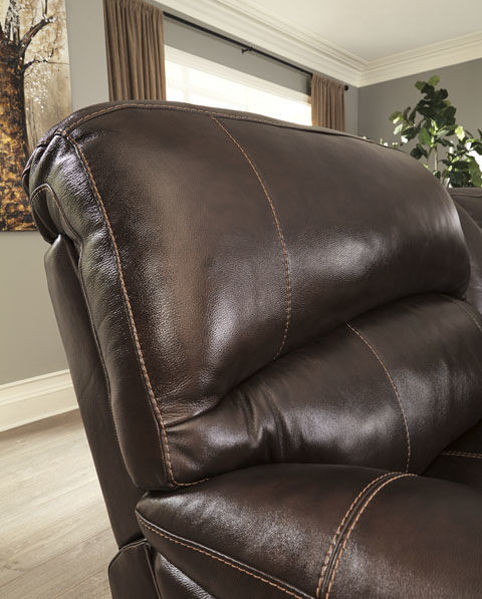 Picture of BIG CHIEF CHOCOLATE LAF CHAISE POWER RECLINING SECTIONAL - U524