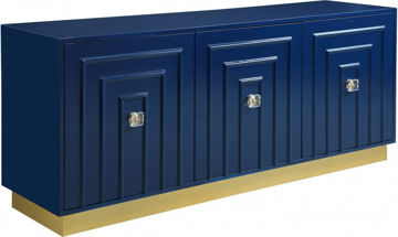 Picture of COSMO NAVY SIDEBOARD/BUFFET - 341