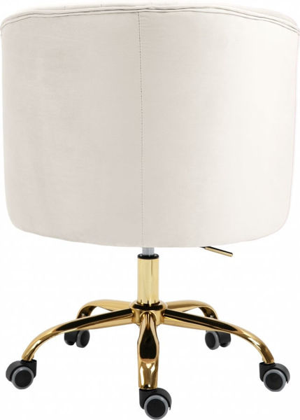 Picture of ARDEN CREAM DESK CHAIR - 161