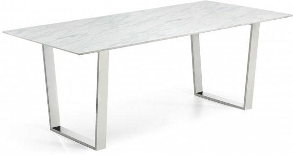 Picture of CARLTON CHROME DINING TABLE - 735