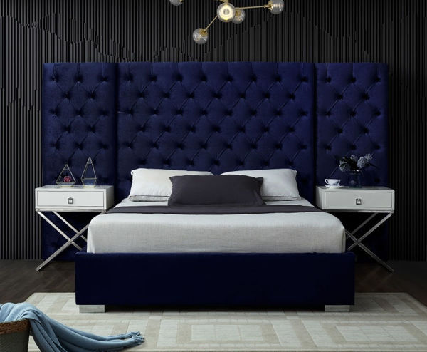 Picture of GRANDE NAVY QUEEN WALL BED - 890