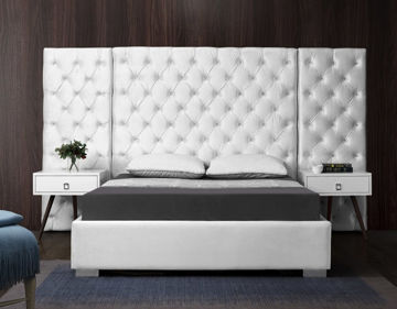 Picture of GRANDE WHITE QUEEN WALL BED - 890