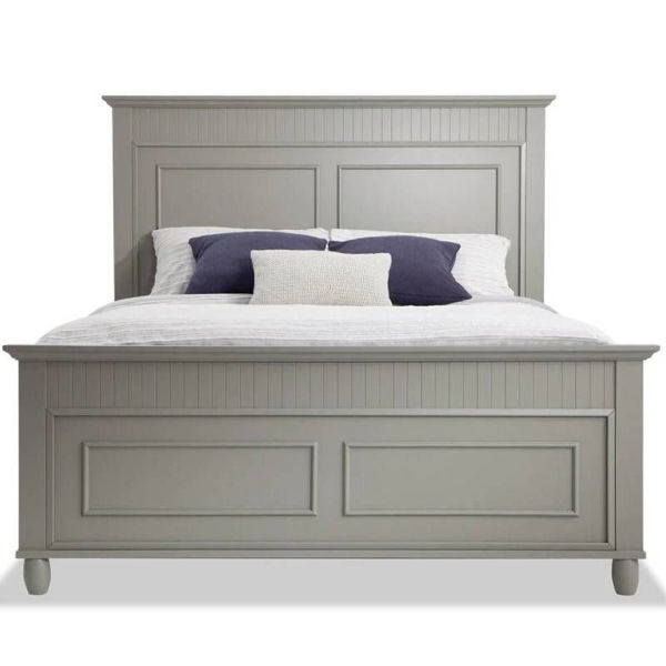 Picture of SPENCER GREY TWIN PANEL BED - SP400