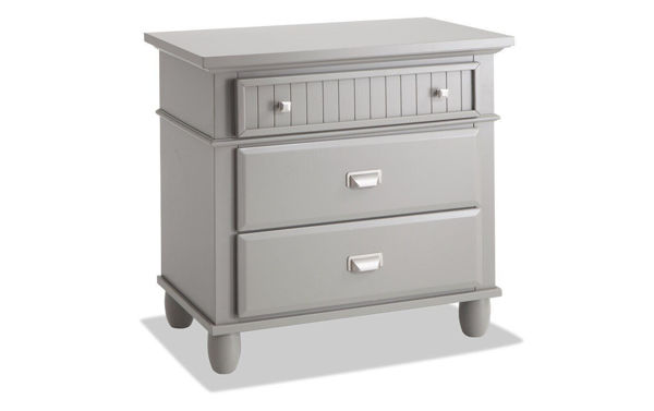 Picture of SPENCER GREY KING STORAGE BEDROOM SET - SP450