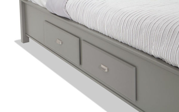 Picture of SPENCER GREY KING STORAGE BED - SP450