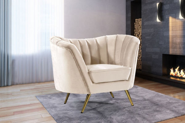 Picture of MARGO CREAM CHAIR - 622