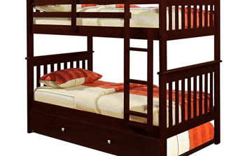 Picture of MISSION CAPPUCINO FULL/FULL BUNKBED - 123