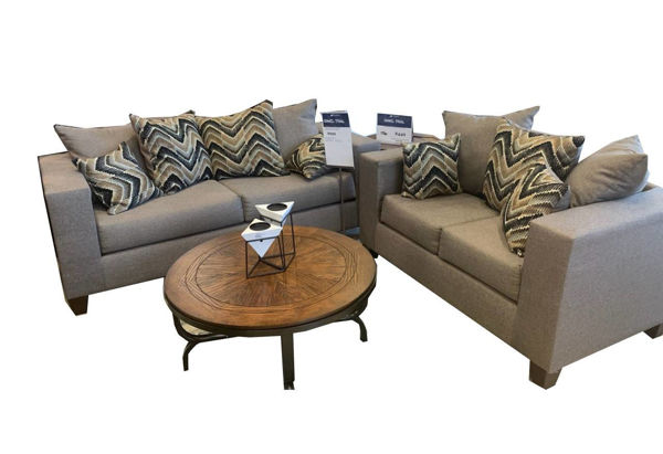 Picture of POLAND GRAY SOFA - 110