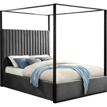Picture of JAX GREY QUEEN CANOPY BED - 930