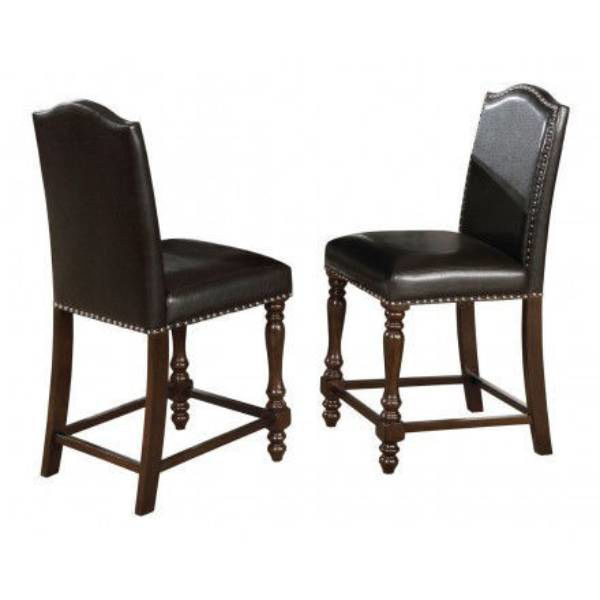 Picture of LANGLEY BLACK COUNTER DINING STOOL - 2766