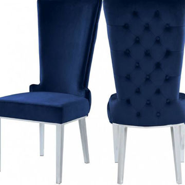 Picture of STRATOS NAVY DINING CHAIR - 729