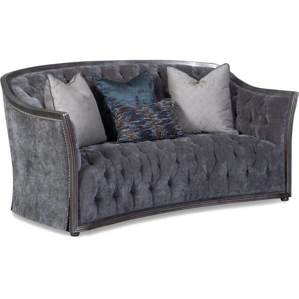 Picture of SIENNA SMOKE LOVESEAT - A175