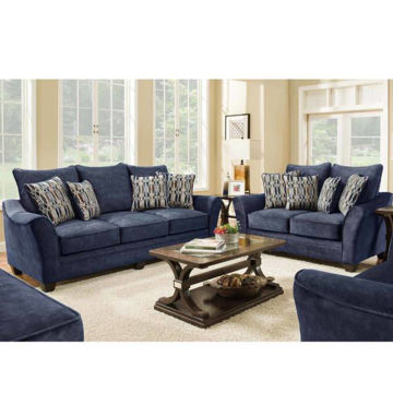 Picture of ATHENA NAVY LOVESEAT - 3850