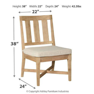 Picture of CLAREMONT CHAIR WITH CUSHION - P801