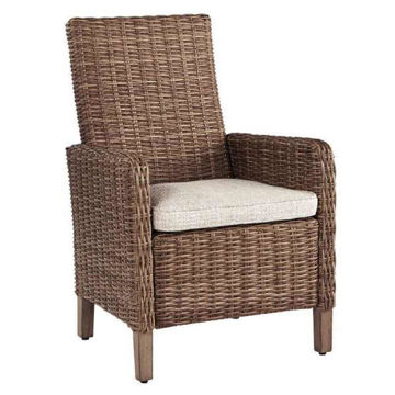 Picture of EASTCHESTER ARM CHAIR W/ CUSHION - P791
