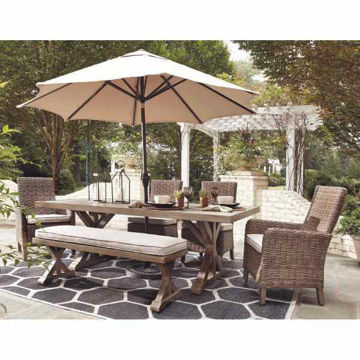 Picture of EASTCHESTER OUTDOOR DINING SET - P791