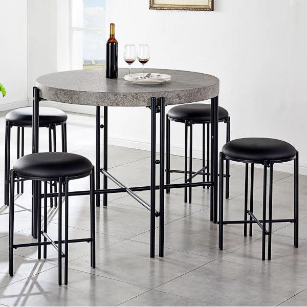 Picture of MORGAN BLACK COUNTER STOOL - MG450