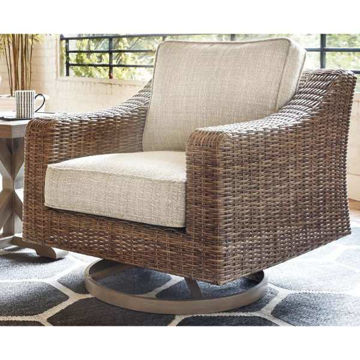 Picture of EASTCHESTER SWIVEL LOUNGE CHAIR - P791