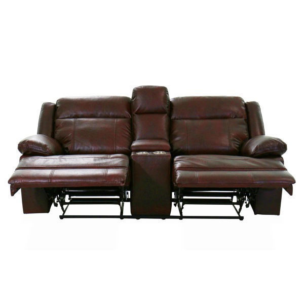 Picture of BRIGGS BURGUNDY MANUAL RECLINING SET - 023