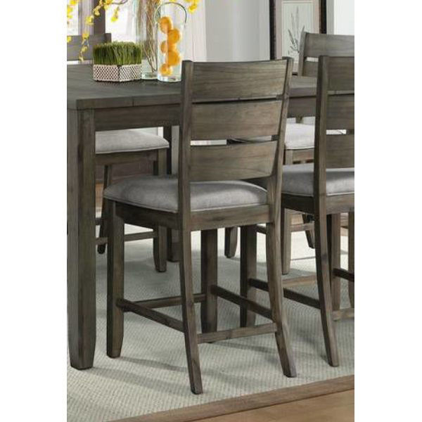 Picture of CATO GREY SLAT BACK COUNTER STOOL - DCT350