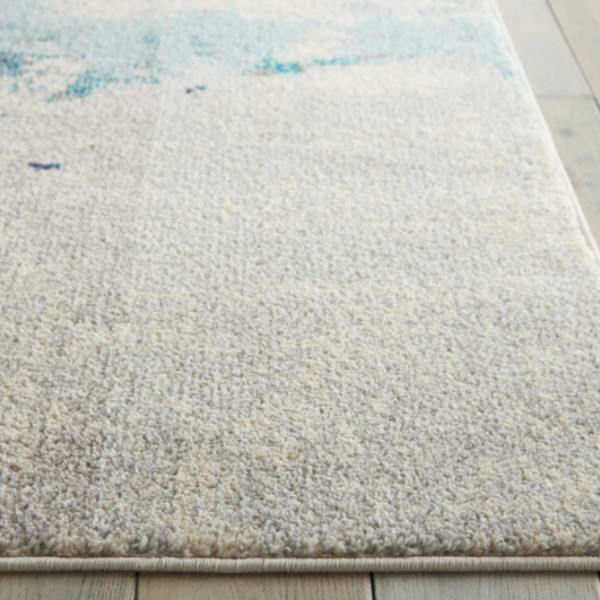 Picture of COSMIC RUG IVORY BLUE 5X7